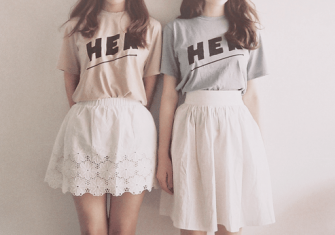 夏におすすめ!超かわいいおしゃれな双子コーデ例紹介!
